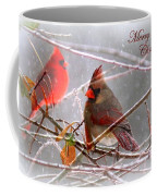 Cardinals - Male And Female - Img_003card Coffee Mug