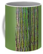 Cardon Cactus Texture. Coffee Mug