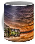 Carew Castle Sunset 2 Coffee Mug