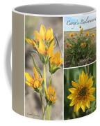 Carey's Balsamroot Collage Coffee Mug