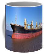 Cargo Ship Coffee Mug by Olivier Le Queinec