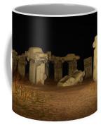 Carhenge At Night Coffee Mug