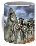 Carhenge Automobile Art Coffee Mug