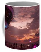Caribbean Cruise Light Show Coffee Mug
