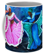 Caribbean Folk Dancers Coffee Mug
