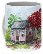 Caribbean House Coffee Mug