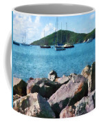 Caribbean - Rocky Shore St. Thomas Coffee Mug