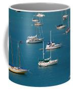 Caribbean Sailboats Coffee Mug