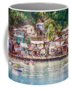 Caribbean Village Coffee Mug