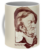 Caricature Of Richard Wagner Coffee Mug by Anonymous