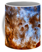 Carina Nebula-dust Pillars Coffee Mug