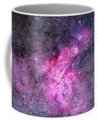 Carina Nebula Panorama Coffee Mug