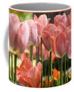 Caring Pink Tulip Time Coffee Mug