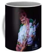 Carlos Santana At The Berkeley Greek Theater-september 13th 1980 Coffee Mug