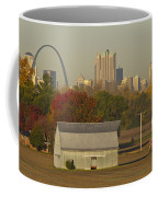 Carls Barn And The Arch Coffee Mug