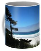 Carmel Beach California Usa Coffee Mug