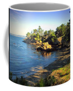 Carmel Meadows Beach At Point Lobos Coffee Mug
