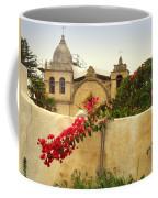 Carmel Mission Getting A Facelift Coffee Mug