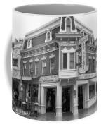 Carnation Cafe Main Street Disneyland Bw Coffee Mug