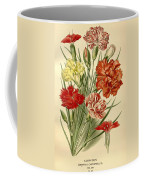 Carnations Coffee Mug by Philip Ralley