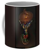 Carnival Glass Bulb Sprouter  Coffee Mug