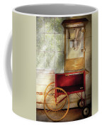 Carnival - The Popcorn Cart Coffee Mug by Mike Savad