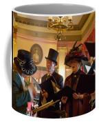 Carol Singers At Christmas Coffee Mug