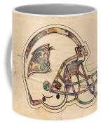 Carolina Panthers Logo Art Coffee Mug