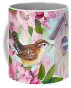 Carolina Wren In Springtime Coffee Mug