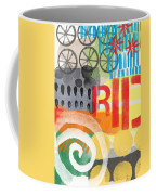 Carousel #6 Ride- Contemporary Abstract Art Coffee Mug