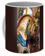 Colorful Carousel Merry-go-round Horse Coffee Mug