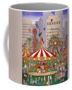 Carousel In City Park Coffee Mug