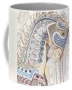 Carousel Stallion Coffee Mug