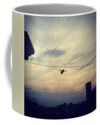 Carpenter Bees Abound On The Deck Coffee Mug