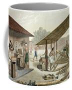 Carpentry Workshop In Kupang, Timor Coffee Mug