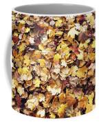 Carpet Of Leafs Coffee Mug