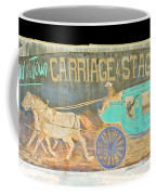 Carriage And Stagecoach Color Invert Coffee Mug