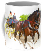 Carriage Artistic Coffee Mug