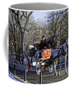 Carriage Driver - Central Park - Nyc Coffee Mug