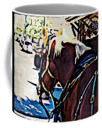 Carriage Horse Coffee Mug