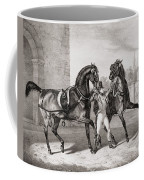 Carriage Horses For The King Coffee Mug