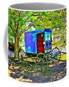 Amish Carriage Coffee Mug