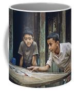 Carrom Boys Coffee Mug