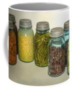 Carrots Vintage Kitchen Glass Jar Canning Coffee Mug