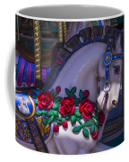 Carrsoul Horse With Roses Coffee Mug