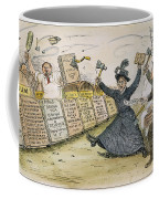Carry Nation Cartoon, 1901 Coffee Mug
