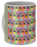 Cars Abstract  Coffee Mug