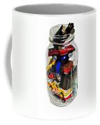 Cars In A Jar Coffee Mug