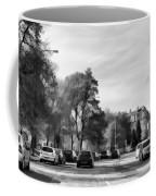 Cars On A Street In Edinburgh Coffee Mug