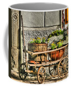 Cart And Flowers In Slovenia Coffee Mug